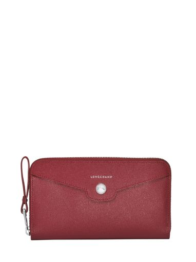 Longchamp Game on Portefeuille Rouge