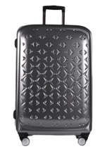 Valise Rigide L Quadra Travel Gris quadra 18802-L