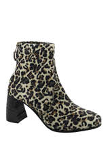 Bottines leopard-MJUS
