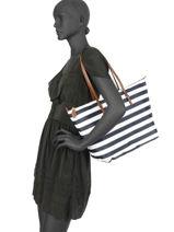 Sac Shopping En Nylon L Chadwick Lauren ralph lauren Noir chadwick 31687516-vue-porte
