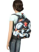 Sac à Dos 1 Compartiment Roxy Noir backpack RJBP3837-vue-porte