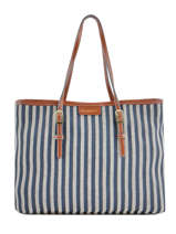 Sac Shopping Paloma Mac douglas Bleu paloma EVEPAL-M