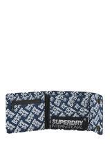 Portefeuille Superdry Noir accessories M98005MT-vue-porte