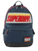 Sac à Dos 1 Compartiment Superdry Noir backpack men M91024MT