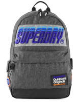 Rugzak 1 Compartiment Superdry Grijs backpack men M91024MT
