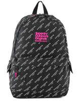 Sac à Dos 1 Compartiment Superdry Noir backpack woomen G91007JR