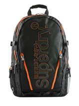Sac à Dos Diamond  2 Compartiments Superdry Noir backpack men M91011JT
