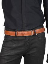 Verstelbare Herenriem Extra Petit prix cuir Bruin extra 35-vue-porte