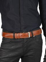 Ceinture Homme Ajustable Extra Petit prix cuir Marron extra 290-40-vue-porte