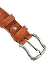 Verstelbare Herenriem Miniprix Bruin jean 1583-40-vue-porte