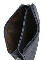 Portemonnee Original N Leder Nathan baume Blauw original n 302N-vue-porte