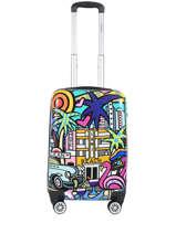 Handbagage Palms Madisson Blauw merveilles 96820K