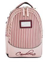 Sac à Dos Enfant 2 Compartiments Cameleon Rose retro REV-SD31
