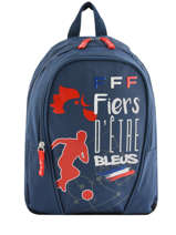 Sac à Dos Federat. france football Bleu equipe de france 193X201S