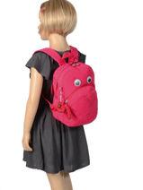 Sac A Dos Mini Kipling Rose back to school 253-vue-porte