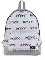 Sac à Dos 1 Compartiment Roxy Gris back to school RJBP3950