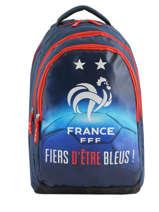 Sac à Dos Federat. france football Bleu equipe de france 193X204I