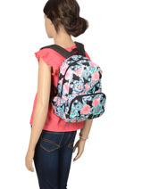 Sac à Dos Always Core Roxy Noir kids RJBP3948-vue-porte