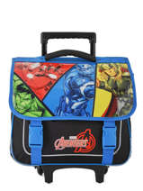Cartable à Roulettes 1 Compartiment Avengers Multicolore quadri AVNI18