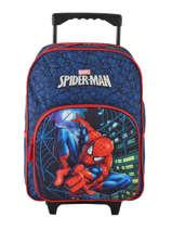 Sac à Dos à Roulettes Mask Spiderman Bleu mask SPIEI08