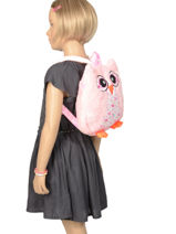 Sac à Dos Mini Animal Rose kids KIDNI02-vue-porte