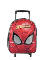Sac à Dos à Roulettes Mask Spiderman Rose mask SPINI04
