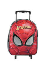 Sac à Dos à Roulettes Mask Spiderman Rouge mask SPINI04