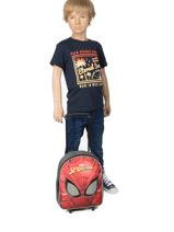 Sac à Dos à Roulettes Mask Spiderman Rose mask SPINI04-vue-porte