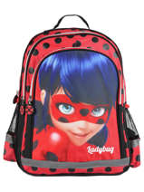 Sac à Dos 2 Compartiments Miraculous Rouge tales of ladybug 599840LB