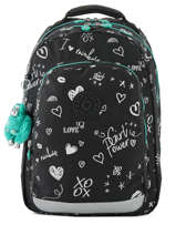 Sac à Dos 2 Compartiments + Pc 15'' Kipling Noir back to school I4053