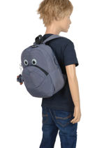 Sac A Dos Mini Kipling Noir back to school 253-vue-porte