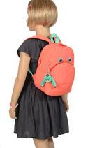 Mini Rugzak Kipling Roze back to school 253-vue-porte