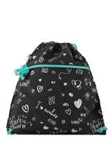 Sporttas Kipling Zwart back to school 9487