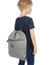 Sac De Sport Kipling Gris back to school 9487-vue-porte