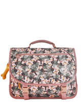 Cartable 2 Compartiments Lily Girls Stones and bones Multicolore girls LILY-G