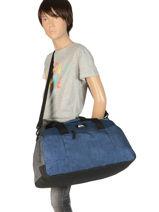 Sac De Voyage Cabine Luggage Quiksilver Bleu luggage QYBL3151-vue-porte