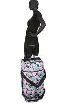 Reistas Luggage Roxy Zwart luggage RJBL3168-vue-porte