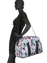 Sac De Voyage Cabine Luggage Roxy Noir luggage RJBP3955-vue-porte