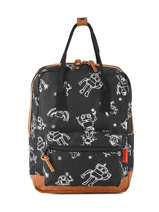 Sac à Dos Mini Kidzroom Noir black and white 30-8975