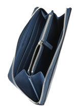 Portefeuille Sculpted Monogramme Calvin klein jeans Blauw sculpted monogramme K605547-vue-porte