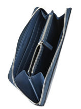 Portefeuille Sculpted Monogramme Calvin klein jeans Bleu sculpted monogramme K605547-vue-porte