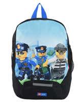 Mini Rugzak Lego Zwart city police chopper 10030-35