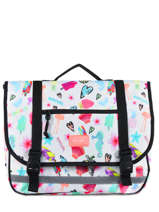 Cartable 2 Compartiments Rip curl Blanc summer time LBPQG4