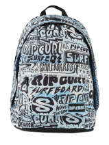 Sac à Dos 2 Compartiments Rip curl Bleu cover up BBPMP4