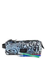 Pennenzak 2 Compartimenten Rip curl Blauw cover up BUTDC4-vue-porte