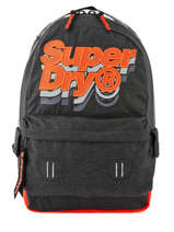 Sac à Dos 1 Compartiment Superdry Gris backpack men M91801MU