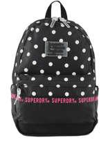 Rugzak 1 Compartiment Superdry Zwart backpack woomen G91903JT