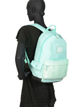 Rugzak 1 Compartiment Superdry Blauw backpack woomen G91900MT-vue-porte