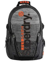 "Rugzak Knip Tarp 2 Compartimenten + Pc15"" Superdry Zwart backpack men M91800JU"