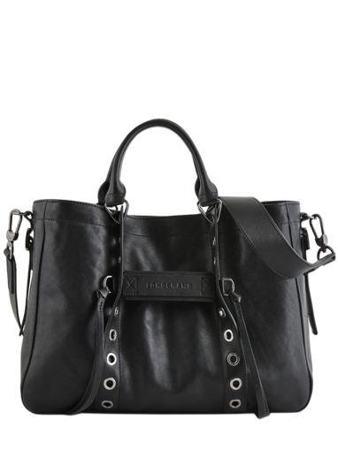 Longchamp Longchamp 3d rock Sac porté main Noir